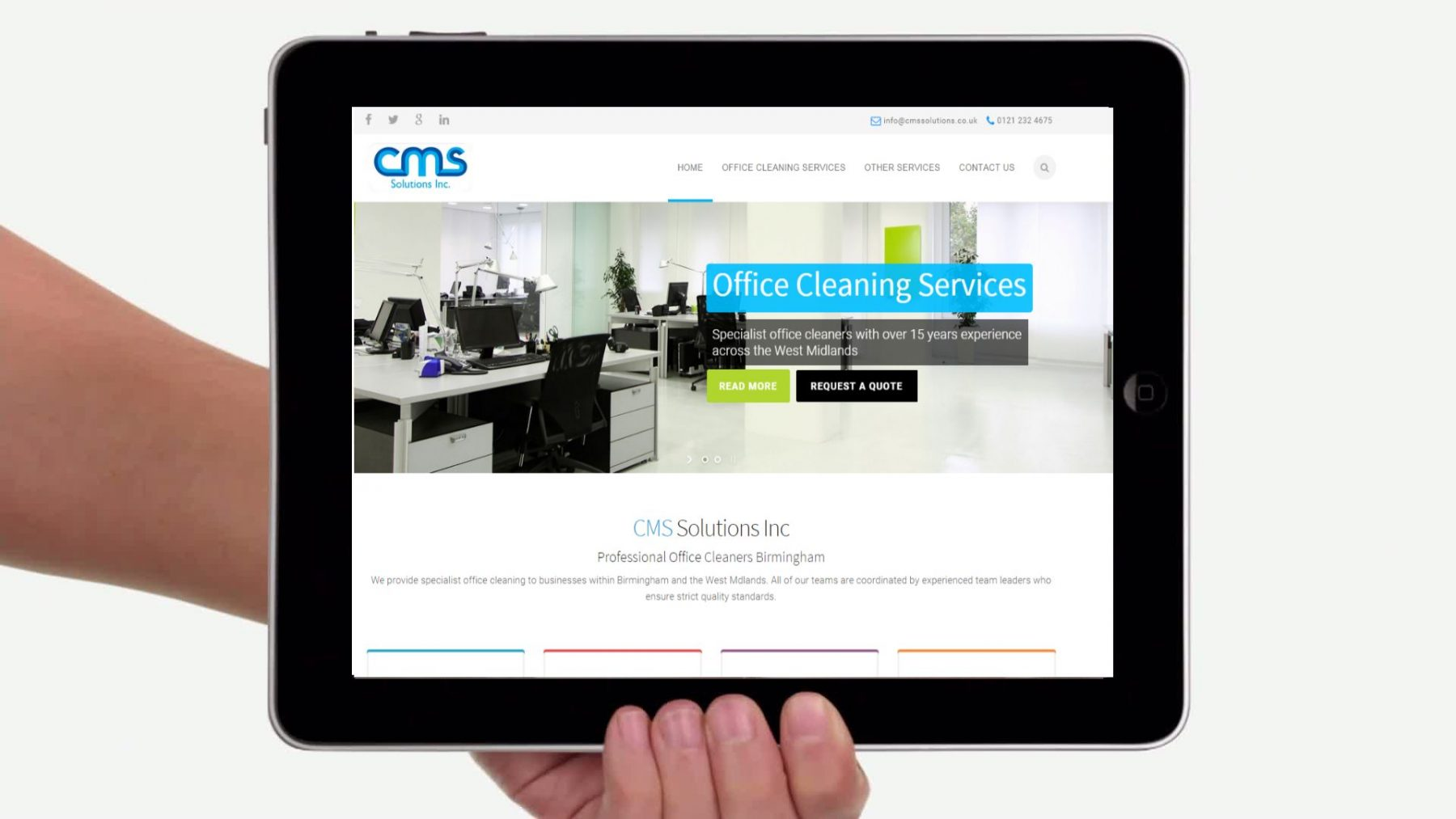 CMS Launch Brand New Website