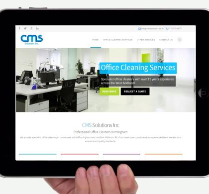CMS Launch Brand New Website